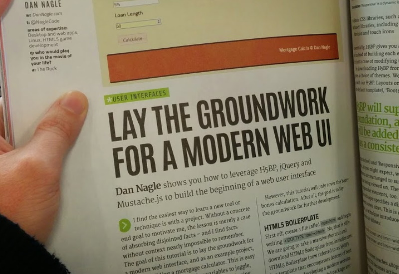 Groundwork for a Modern Web UI